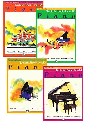 Alfred/'s Basic Piano Library Technic Book 3 2518