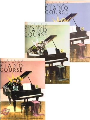 Alfreds Basic Adult Piano Course Lesson Book
