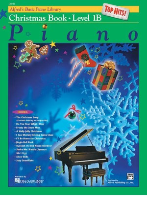 Alfreds Basic Piano Library Top Hits Christmas Book 1B