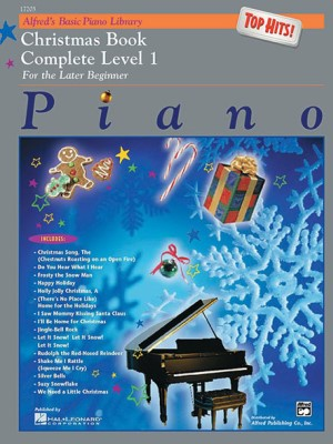 Alfreds Basic Piano Course Top Hits Christmas Complete 1